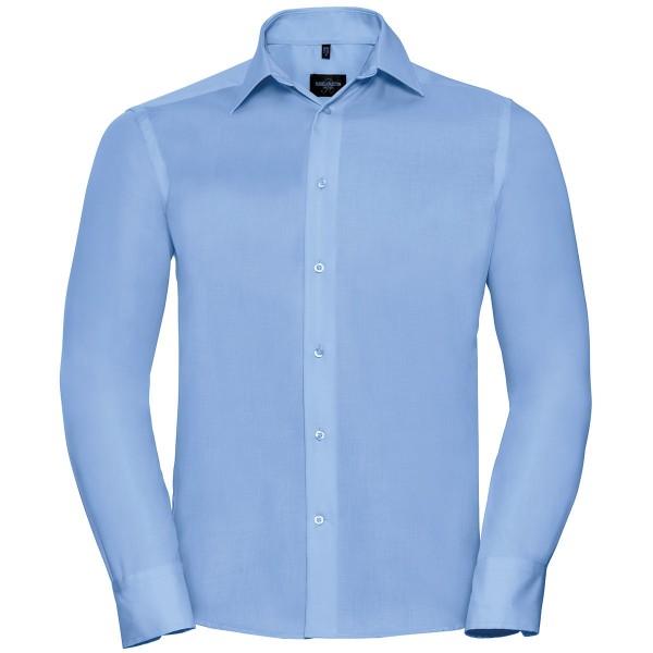 Russel klassisches bügelfreies langarm Hemd