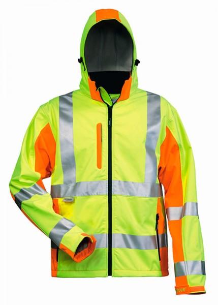 elysee® Warnschutz Softshell-Jacke JIM