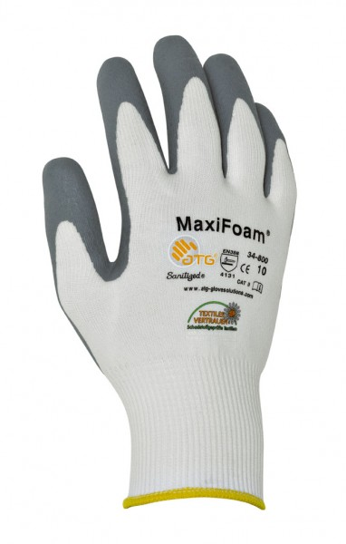 ATG® Nylon-Strickhandschuhe MAXIFOAM - 34-800