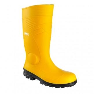 teXXor® PVC-Sicherheitsstiefel S5 gelb