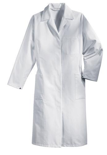 Uvex whitewear Damenmantel 245 1/1 Arm weiß