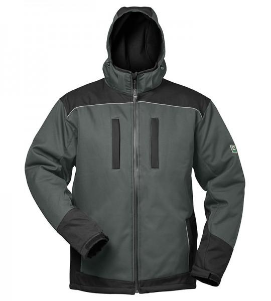 elysee® Winter-Softshell-Jacke AJAX grau/schwarz