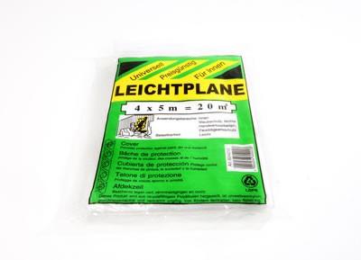 LDPE-Abdeckplane 4m x 5m Typ 7