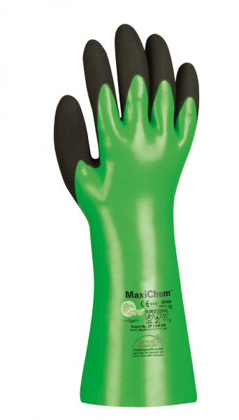 Chemikalien-Schutzhandschuhe MaxiChem 30 cm - 56-630