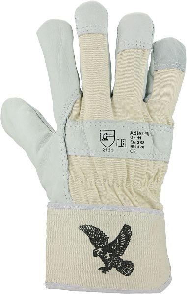 Rindnarbenlederhandschuhe Adler-M