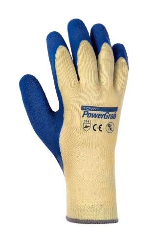 teXXor® Baumwoll/Polyester-Strickhandschuhe POWER GRAB