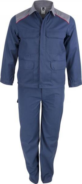 Proban® Jacke - Farbe: blau/grau