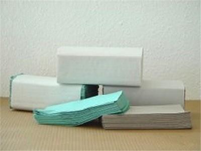 Falthandtücher Katrin Classic ZZ 2, 2-lagig, weiß, 24,4 x 23 cm, 20 x 200 Blatt = 4.000 Blatt (ACHTU