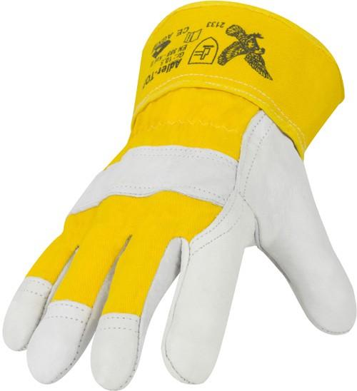 Rindnarbenleder-Handschuhe