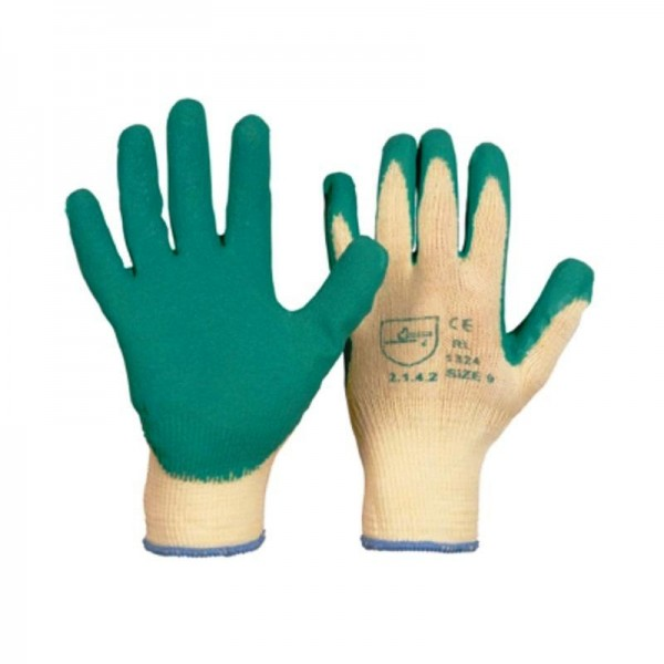 Latex Grip Grobstrick-Handschuhe
