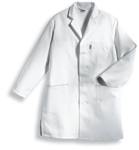 Uvex whitewear Herrenmantel 414 weiß