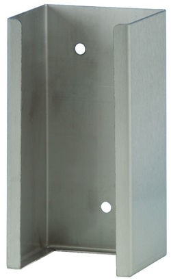 Wandhalterung aus Edelstahl für WH-Flasche