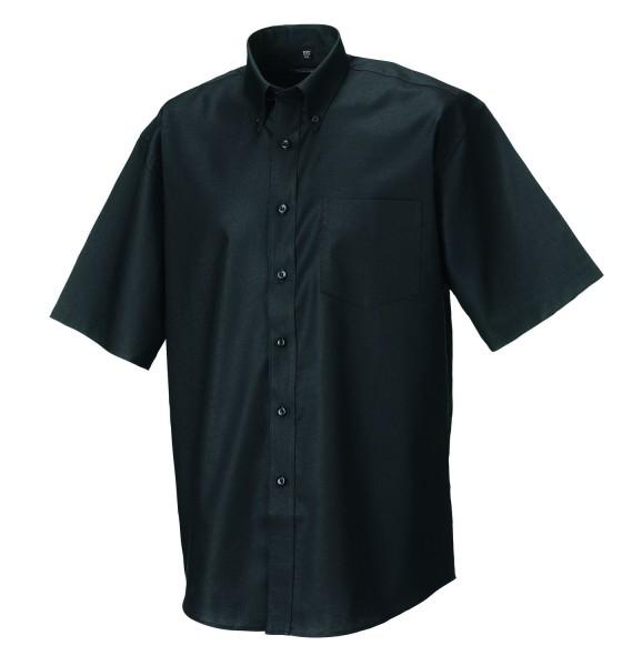 Russell klassisches kurzarm Oxford-Hemd
