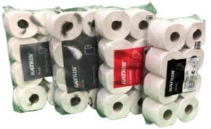 WC-Papier KATRIN CLASSIC 2-lagig (6 x 8 Rollen)