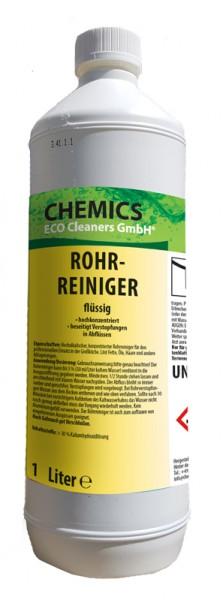 Rohrreiniger flüssig 1 Liter Flasche - UN 1814, Klasse 8, VG II