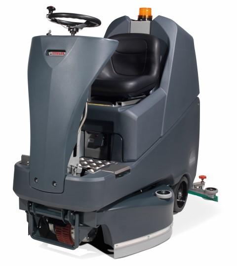 Aufsitzautomat TTV-678G/400T mit 3 x Nylon-Scheuerbürsten