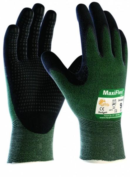 Schnittschutz-Strickhandschuhe MaxiFlex Cut - genoppte Innenfläche -Schnittschutzklasse 3