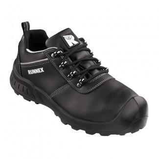 ruNNex® Sicherheitshalbschuhe S3 TeamStar SRC schwarz/grau