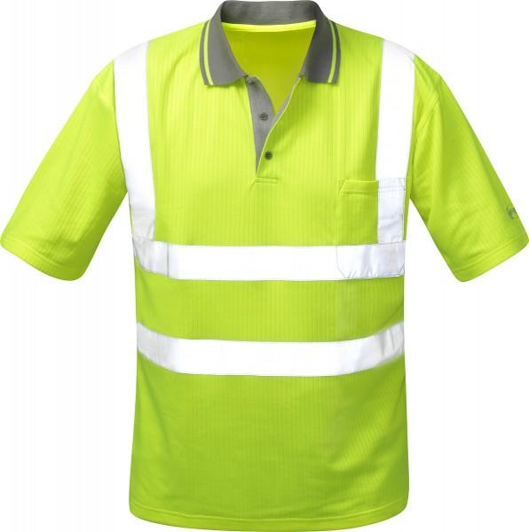 Warnschutz Poloshirt DIEGO, gelb, Safestyle EN 471/2