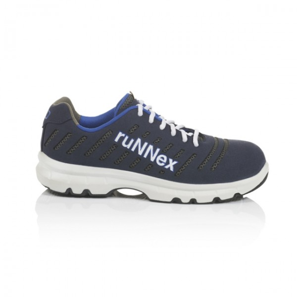 ruNNex® Sicherheitshalbschuhe S1 ESD FlexStar blau/weiß/grau
