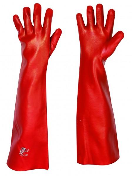 stronghand® Handschuhe MEMPRHIS Vinyl beschichtet rot Gr. 10