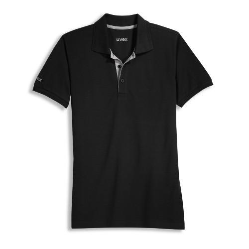 Uvex Poloshirt 8916 schwarz