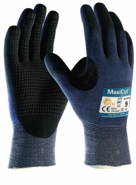 Schnittschutz-Strickhandschuhe MAXICUT® ULTRA DT - genoppte Innenfläche- Schnittschutzklasse 5