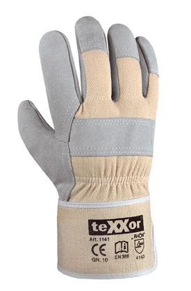 teXXor® Rindkernspaltleder-Handschuhe RHÖN