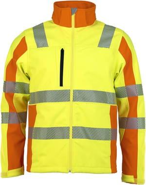Prevent® Warnschutz Softshell-Jacke TRENDLINE