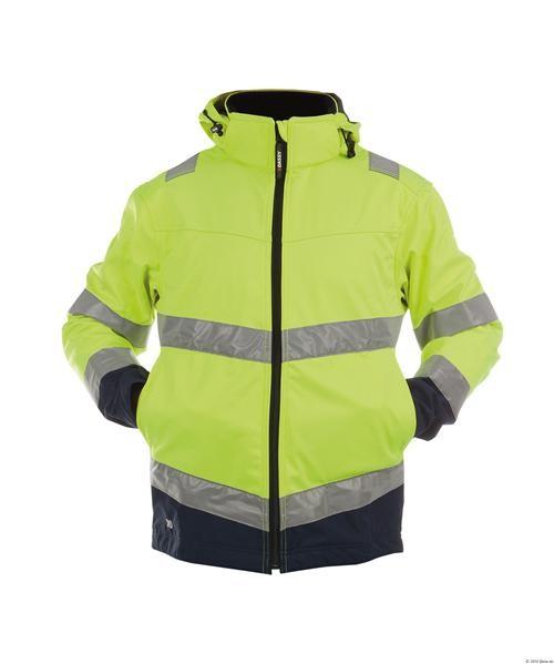 DASSY® Warnschutz Softshell-Jacke MALAGA